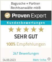 Erfahrungen & Bewertungen zu Bagusche + Partner Rechtsanwälte mbB