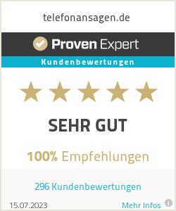 Erfahrungen & Bewertungen zu telefonansagen.de