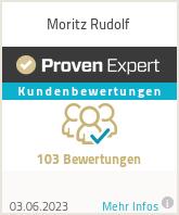 Erfahrungen & Bewertungen zu Moritz Rudolf