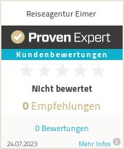 Erfahrungen & Bewertungen zu Reiseagentur Eimer