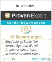 Erfahrungen & Bewertungen zu IK-Websites