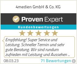Erfahrungen & Bewertungen zu 4medien GmbH & Co. KG