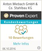 Erfahrungen & Bewertungen zu Anton Miebach GmbH & Co. Stahlbau KG