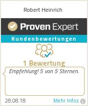 Erfahrungen & Bewertungen zu Robert Heinrich