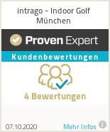 Erfahrungen & Bewertungen zu intrago - Indoor Golf München