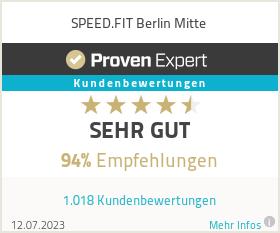 Erfahrungen & Bewertungen zu SPEED.FIT Berlin Mitte