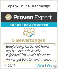Erfahrungen & Bewertungen zu Jopen-Online Webdesign