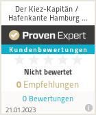 Erfahrungen & Bewertungen zu Der Kiez-Kapitän / Hafenkante Hamburg Touren