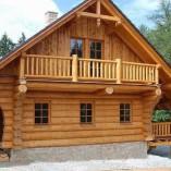 Das Rundbohlen Holzhaus
