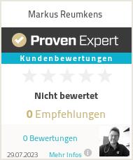Erfahrungen & Bewertungen zu Markus Reumkens