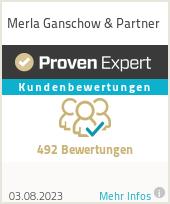 Erfahrungen & Bewertungen zu Merla Ganschow & Partner
