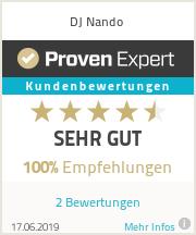 Erfahrungen & Bewertungen zu DJ Nando