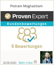 Erfahrungen & Bewertungen zu Pedram Moghaddam