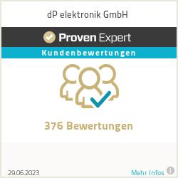 Erfahrungen & Bewertungen zu dP elektronik GmbH