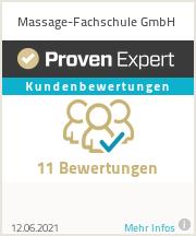 Erfahrungen & Bewertungen zu Massage-Fachschule GmbH