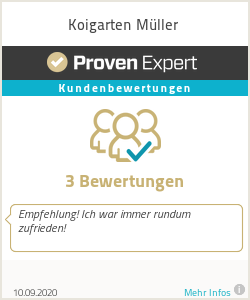 Erfahrungen & Bewertungen zu Koigarten Müller