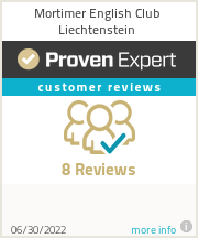Ratings & reviews for Mortimer English Club Liechtenstein