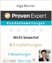 Erfahrungen & Bewertungen zu Olga Benner