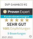 Erfahrungen & Bewertungen zu DVP GmbH & CO KG