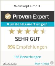Erfahrungen & Bewertungen zu Weinkopf GmbH
