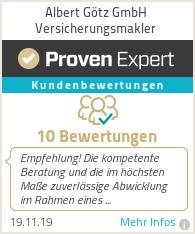 Erfahrungen & Bewertungen zu Albert Götz GmbH Versicherungsmakler