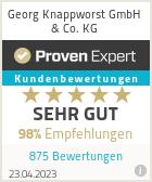 Erfahrungen & Bewertungen zu Georg Knappworst KG