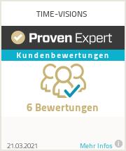 Erfahrungen & Bewertungen zu TIME-VISIONS