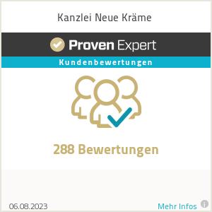 Erfahrungen & Bewertungen zu Kanzlei Neue Kräme