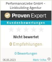 Erfahrungen & Bewertungen zu PerformanceLiebe GmbH - Linkbuilding Agentur