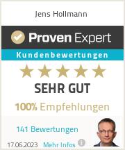 Erfahrungen & Bewertungen zu Jens Hollmann