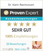 Erfahrungen & Bewertungen zu Dr. Karin Rasmussen