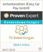 Erfahrungen & Bewertungen zu sicherbezahlen (Easy Car Pay GmbH)