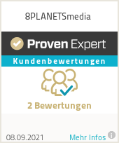 Erfahrungen & Bewertungen zu 8PLANETSmedia