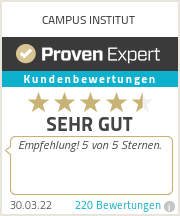 Erfahrungen & Bewertungen zu CAMPUS INSTITUT