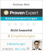 Erfahrungen & Bewertungen zu Andreas Abel