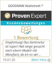 Erfahrungen & Bewertungen zu GOODMAN Wallstreet ®