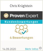 Erfahrungen & Bewertungen zu Chris Krüglstein