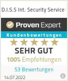 Erfahrungen & Bewertungen zu D.I.S.S Int. Security Service