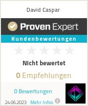 Erfahrungen & Bewertungen zu David Caspar