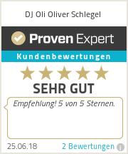 Erfahrungen & Bewertungen zu DJ Oli Oliver Schlegel