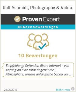 Erfahrungen & Bewertungen zu Ralf Schmidt, Photography & Video