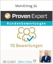 Erfahrungen & Bewertungen zu MehrErtrag24