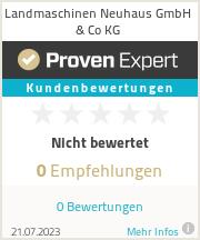Erfahrungen & Bewertungen zu Landmaschinen Neuhaus GmbH & Co KG