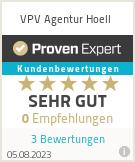 Erfahrungen & Bewertungen zu VPV Agentur Hoell