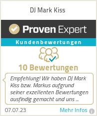 Erfahrungen & Bewertungen zu DJ Mark Kiss