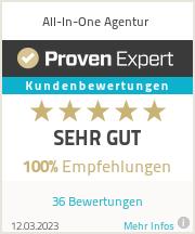 Erfahrungen & Bewertungen zu All-In-One Agentur