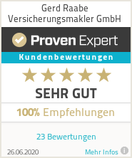 Erfahrungen & Bewertungen zu Gerd Raabe Versicherungsmakler GmbH