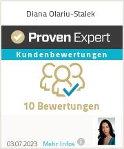 Erfahrungen & Bewertungen zu Diana Olariu-Stalek