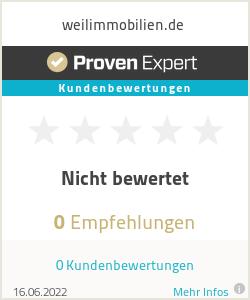 Erfahrungen & Bewertungen zu weilimmobilien.de
