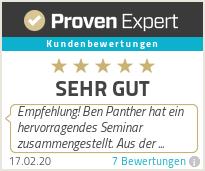 Erfahrungen & Bewertungen zu Ben Panther